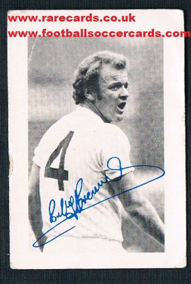 1974 ABC Fb Hobby Cards Bremner